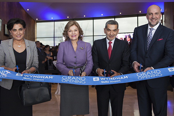 Hotel Wyndham Quito Airport was officially opened