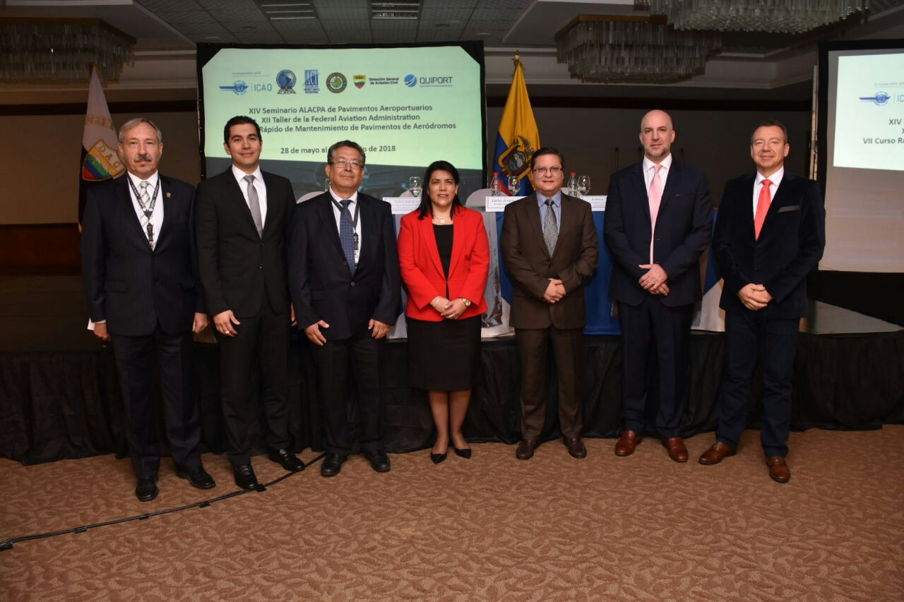International Airport Pavement Seminar Takes Place in Quito