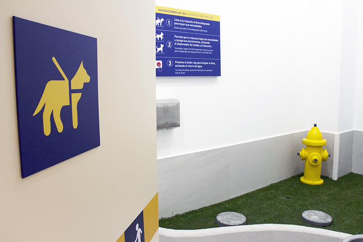 Quito Mariscal Sucre Airport Inaugurates Pet Relief Areas for Service Animals and Pets