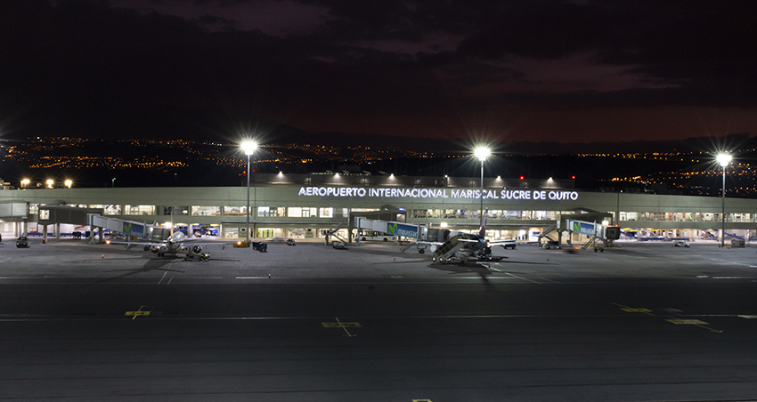 Quito International Airport Will Provide the Facilities Required by the State for the Repatriation Protocol