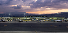 Flight scheduling at Quito International Airport